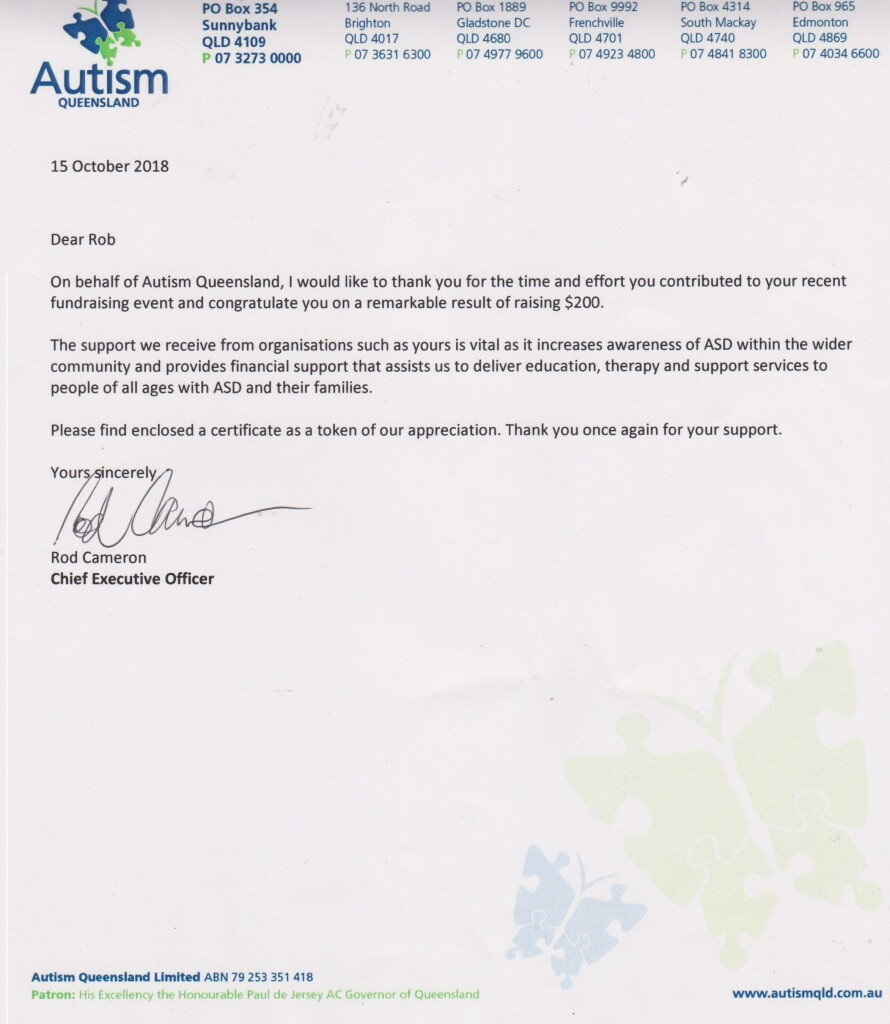 Autism QLD Letter to Me-15-10-18